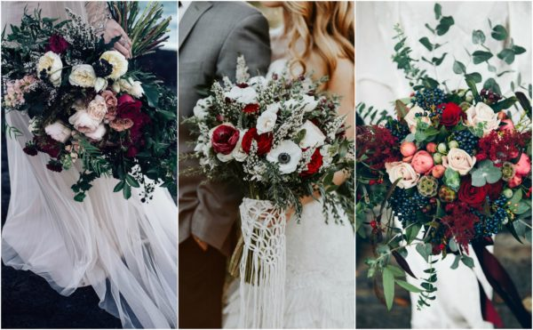 floral winter wedding ideas